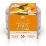 100% Natural Scottish Heather Honey Hand Cream - Sweet Orange