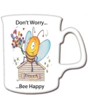 Bee Happy China Mug