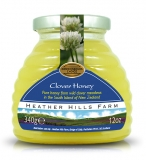 Case of 8 x 100% Raw Clover Honey (340g)