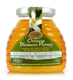 Case of 8 x 100% Raw Spanish Orange Blossom Honey (340g)