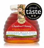 Case of 8 x 100% Raw Chestnut Honey (340g)