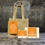 Scottish Heather Honey Skincare Gift Set - Sweet Orange