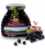 Case of 8 Scottish Blackcurrant Jam (340g)