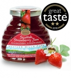 Case of 8 Scottish Strawberry Jam (340g)